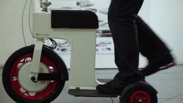 免許いらずで乗りこなせる!折りたたみ式の次世代電動スクーター「ACTON M Scooter」 2番目の画像