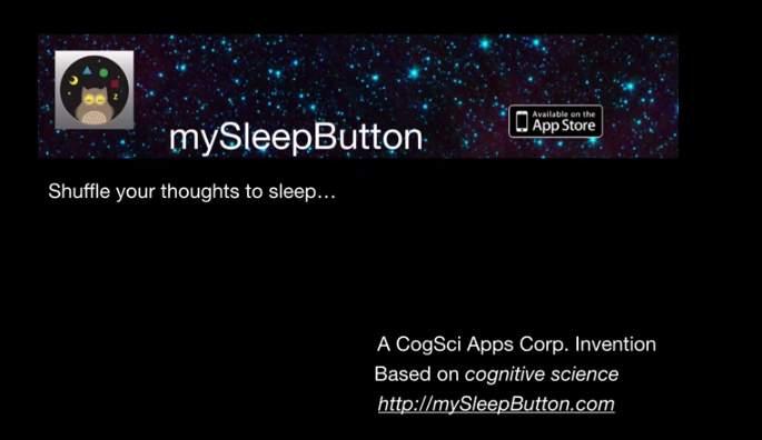 認知科学の力があなたを深い眠りへ。眠りけど眠れない人には「mySleepButton」がピッタリ 1番目の画像