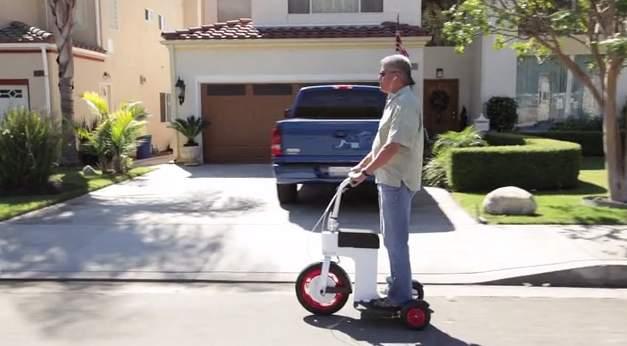 免許いらずで乗りこなせる!折りたたみ式の次世代電動スクーター「ACTON M Scooter」 7番目の画像