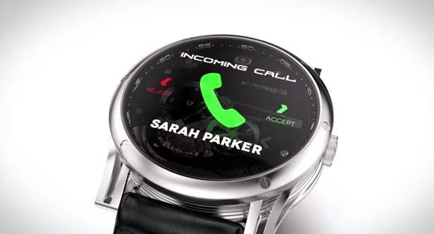 見た目は機械式時計!中身はスマートウォッチな腕時計「Kairos」が大人カッコいい。 1番目の画像