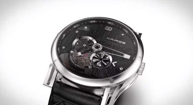 見た目は機械式時計!中身はスマートウォッチな腕時計「Kairos」が大人カッコいい。 2番目の画像