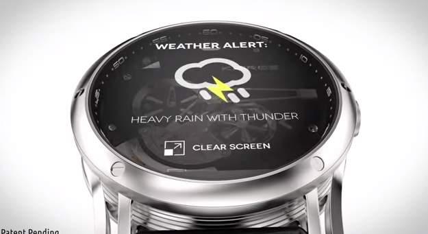 見た目は機械式時計!中身はスマートウォッチな腕時計「Kairos」が大人カッコいい。 4番目の画像