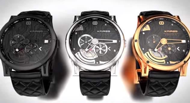 見た目は機械式時計!中身はスマートウォッチな腕時計「Kairos」が大人カッコいい。 7番目の画像