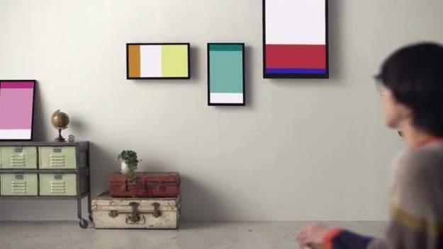 気軽に芸術作品を家に飾れる!デジタルなのに気品漂う本格アートフレーム「FRAMED2.0」 2番目の画像