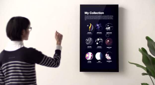 気軽に芸術作品を家に飾れる!デジタルなのに気品漂う本格アートフレーム「FRAMED2.0」 7番目の画像