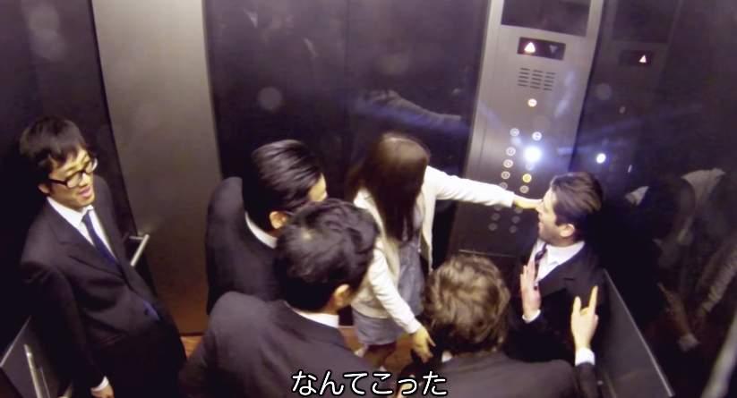 「エレベーターの中がパーティー会場に」髪のいい匂いが引き起こしたドッキリがスゴすぎる 3番目の画像