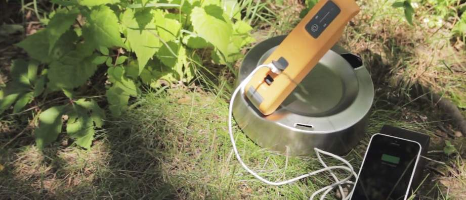 お湯を沸かして発電するケトル発電機「KettleCharge」これで災害時でも電気に困らない! 1番目の画像