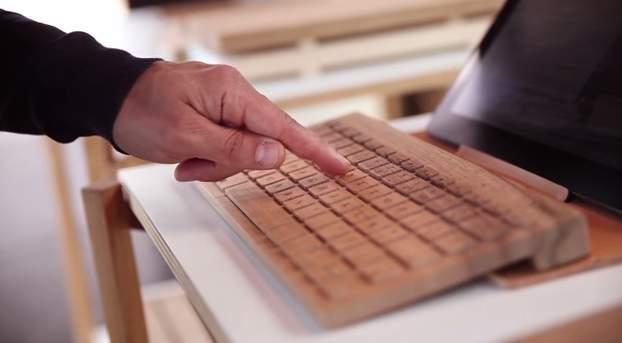 完全オーダーメイドの木製キーボード!フランスの職人が全て手造するキーボードがカッコいい。 1番目の画像