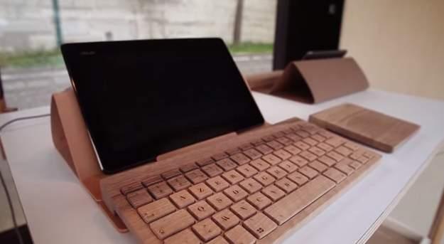 完全オーダーメイドの木製キーボード!フランスの職人が全て手造するキーボードがカッコいい。 2番目の画像
