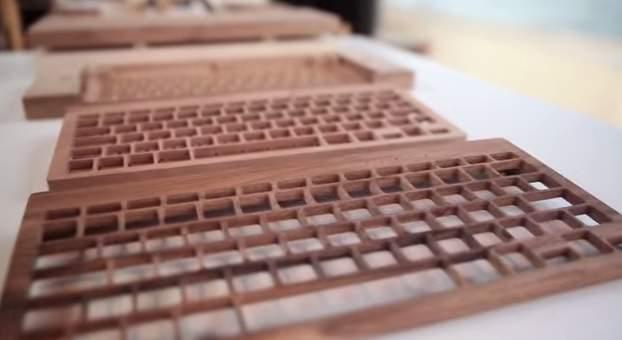 完全オーダーメイドの木製キーボード!フランスの職人が全て手造するキーボードがカッコいい。 3番目の画像