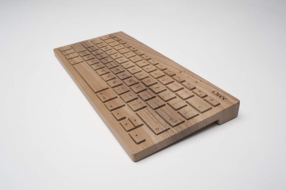 完全オーダーメイドの木製キーボード!フランスの職人が全て手造するキーボードがカッコいい。 5番目の画像