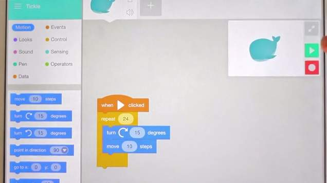 子供がスーパーエンジニアに?「Scratch言語」をiPad用に再発明したアプリ「Tickle」 2番目の画像