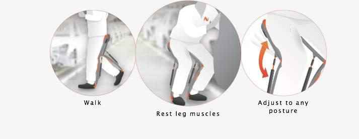 空気椅子なのに疲労0!どこでも座れる外骨格ウェアなチェアレス・チェアが画期的過ぎる 2番目の画像