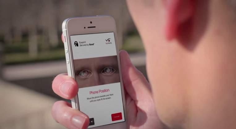 あなたのスマホでも眼認証ができる!?自分の目をパスワード代わりにするアプリ「EyeVerify」 1番目の画像