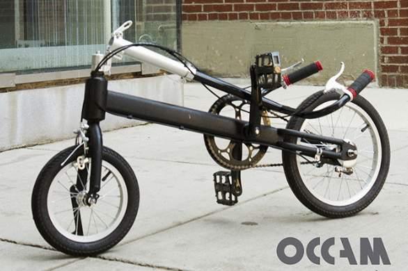 もうサドルなんていらない。サドルの無い折りたたみ「立ち乗り」自転車がスタイリッシュ過ぎる 4番目の画像