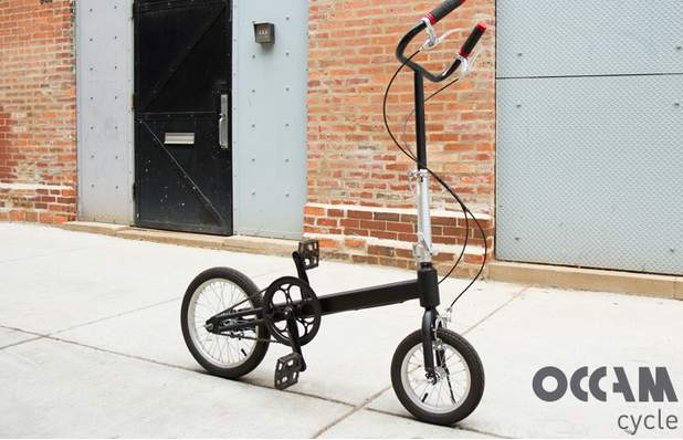もうサドルなんていらない。サドルの無い折りたたみ「立ち乗り」自転車がスタイリッシュ過ぎる 1番目の画像