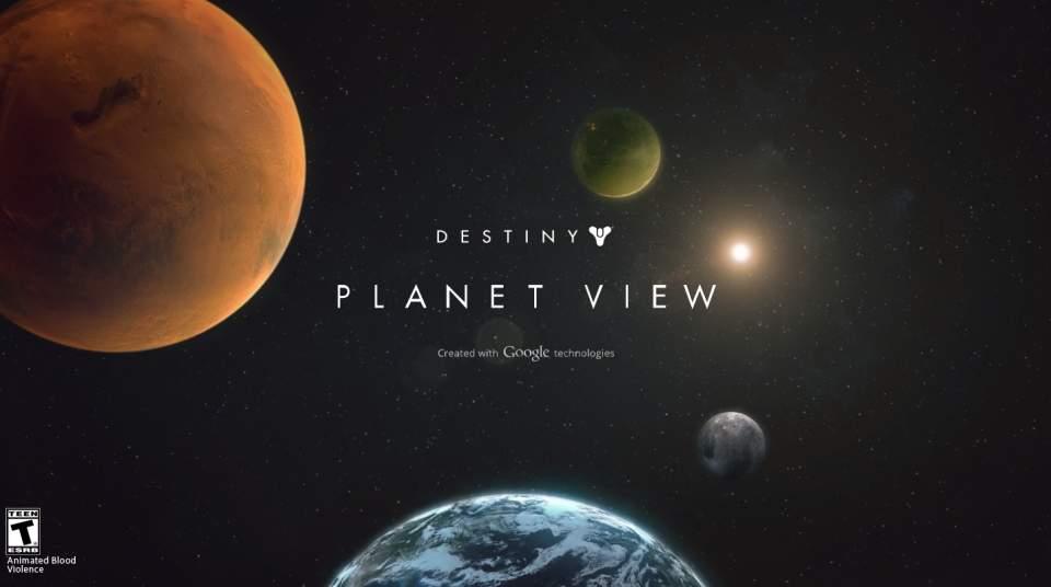 何だこの世界観…!発売前から話題のゲーム「Destiny」のプロモーションにGoogleが協力 1番目の画像