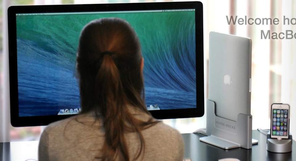 Macのクラムシェルモードをお洒落に!海外で発売中のMacスタンドがスタイリッシュでイイ感じ 1番目の画像
