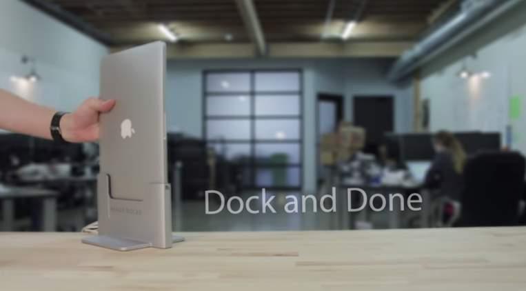 Macのクラムシェルモードをお洒落に!海外で発売中のMacスタンドがスタイリッシュでイイ感じ 7番目の画像