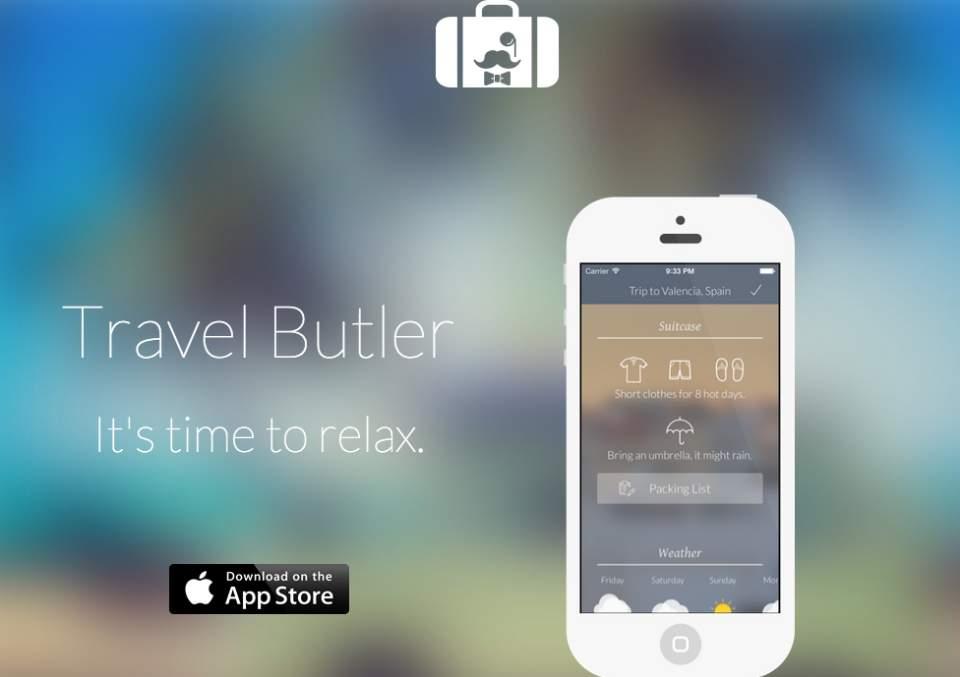 めんどくさがり必見!旅行先に合わせ自動で持ち物をリストにするアプリ「Travel Butler」 1番目の画像