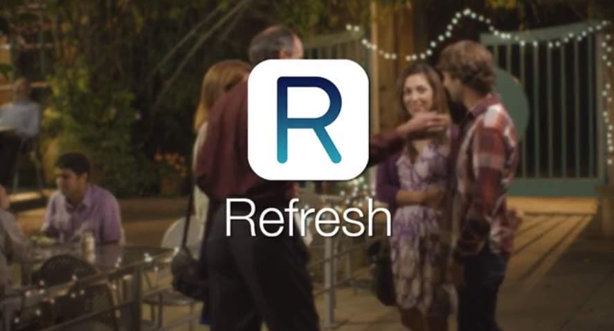 初対面の会話に困らない!初めて会う人との共通の話題を検索してくれるアプリ「Refresh」 1番目の画像