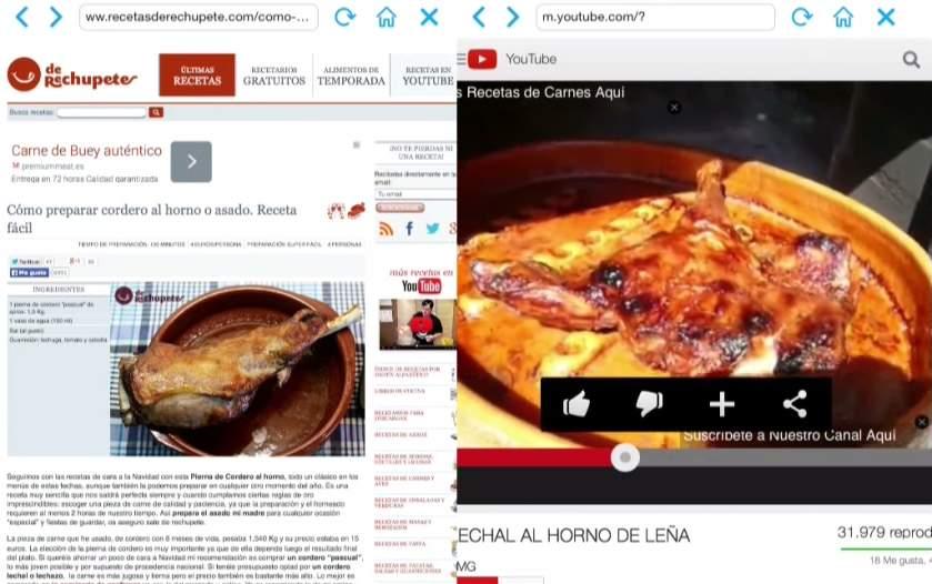欲張りなあなたに!2つのWebサイトを同時に閲覧できる「Double Browser Pro」 3番目の画像