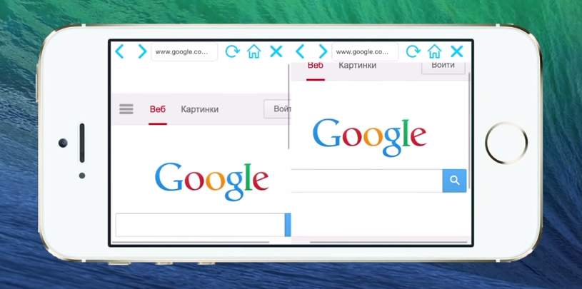 欲張りなあなたに!2つのWebサイトを同時に閲覧できる「Double Browser Pro」 2番目の画像
