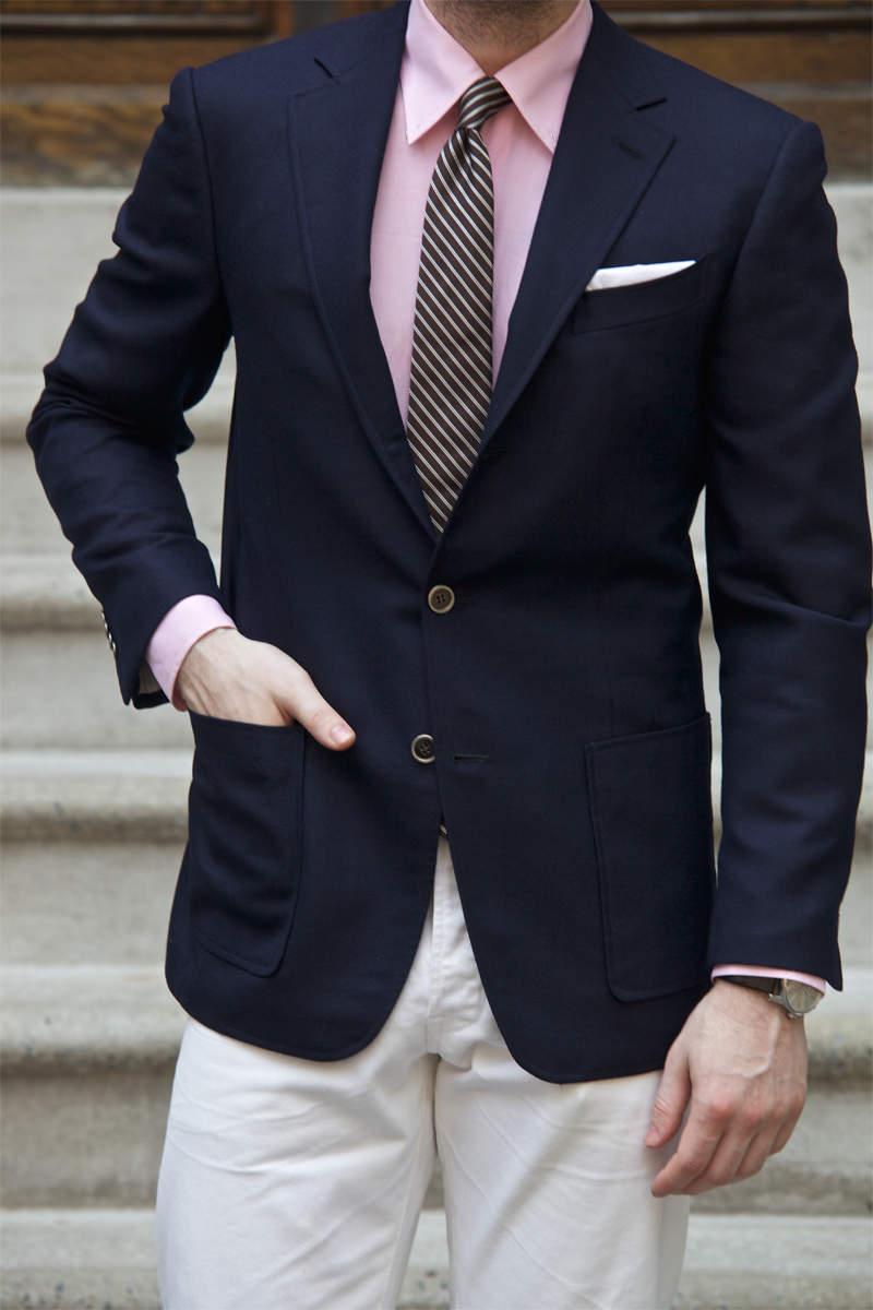 【ビジネスカジュアル入門】王道ジャケパンスタイルの着こなしで知っておくべき3つの基本事項 2番目の画像