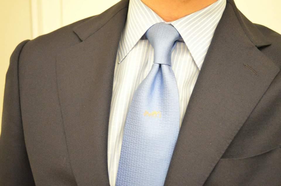 スーツの印象はVゾーンで決まる!スーツをしっかり着こなすVゾーンの3つのポイント 1番目の画像