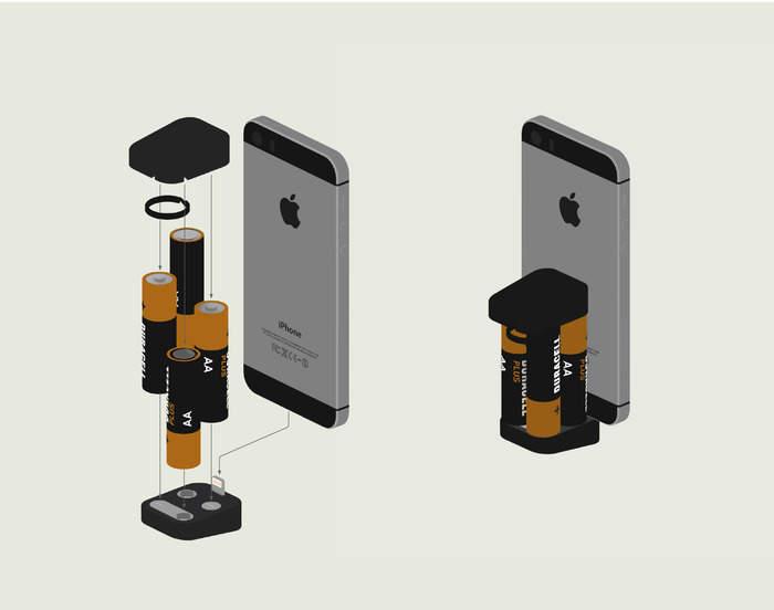 最もかさばらない充電器!大きさ3cmでiPhoneをどこでも充電できる「Oivo」 3番目の画像