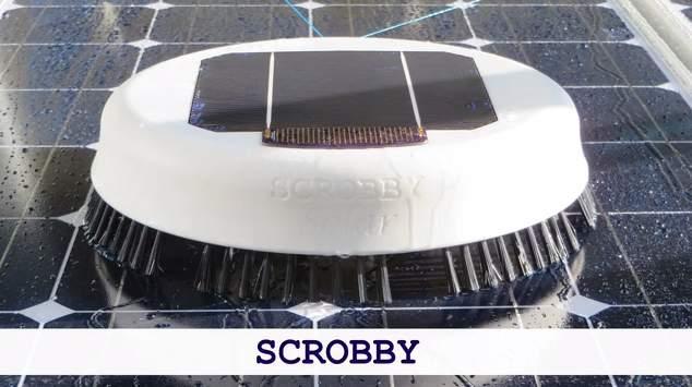 ルンバみたいでかわいい!ソーラーパネルを清掃してくれるロボット「Scrobby Solar」 1番目の画像
