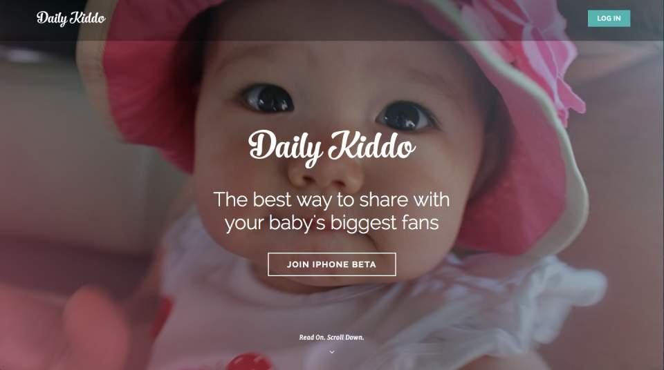 あなたも親バカ自慢ができる?赤ちゃんの可愛い写真を手軽に共有できるSNS「DailyKiddo」 1番目の画像