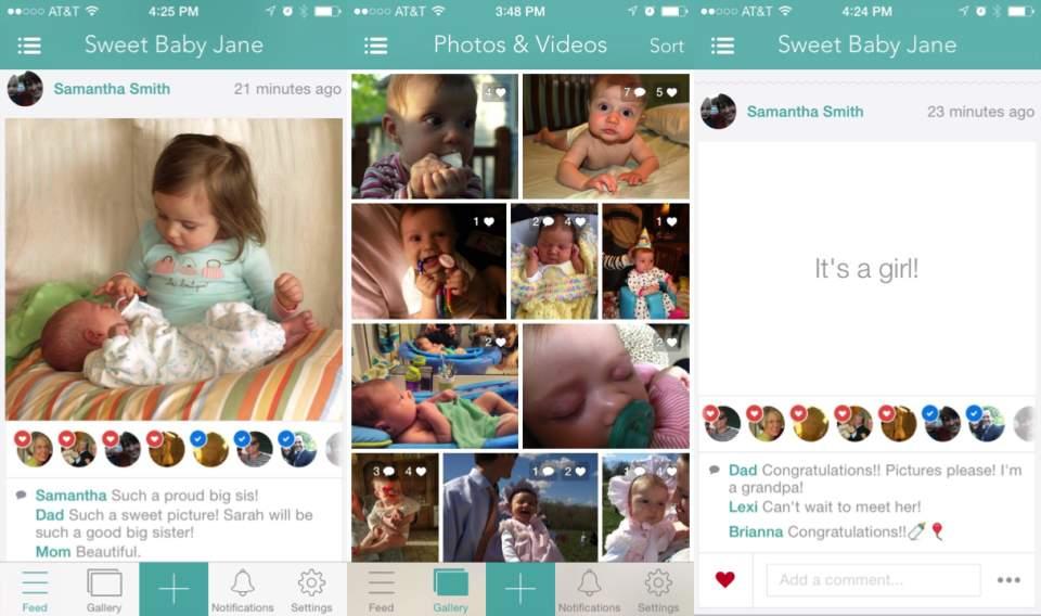 あなたも親バカ自慢ができる?赤ちゃんの可愛い写真を手軽に共有できるSNS「DailyKiddo」 2番目の画像