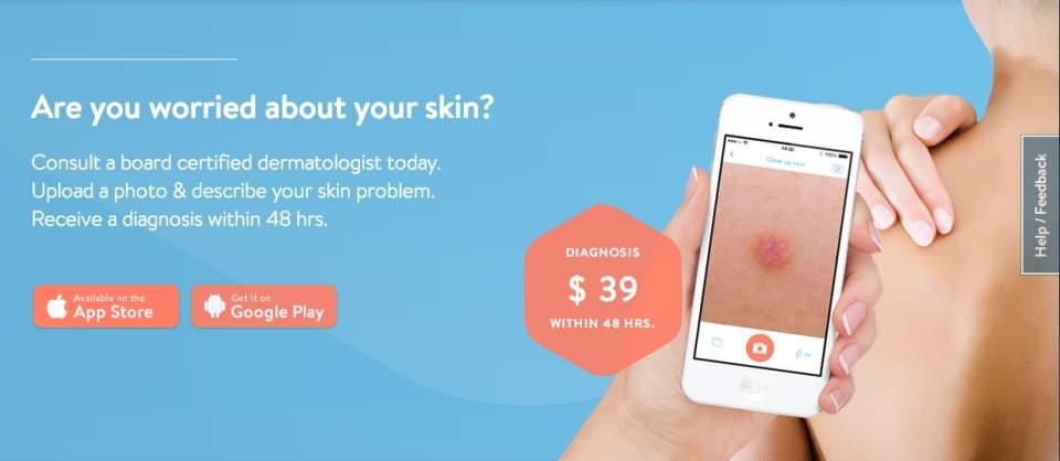 自分の肌の写真を送るだけで皮膚科の診断が!肌トラブルも48時間以内に解決する「KLARA」 2番目の画像