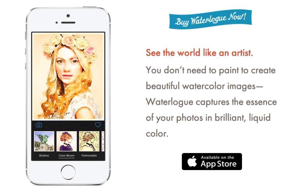 あなたの写真がアートに。「Waterlogue」はどんな写真も水彩画のように加工できるアプリ 1番目の画像