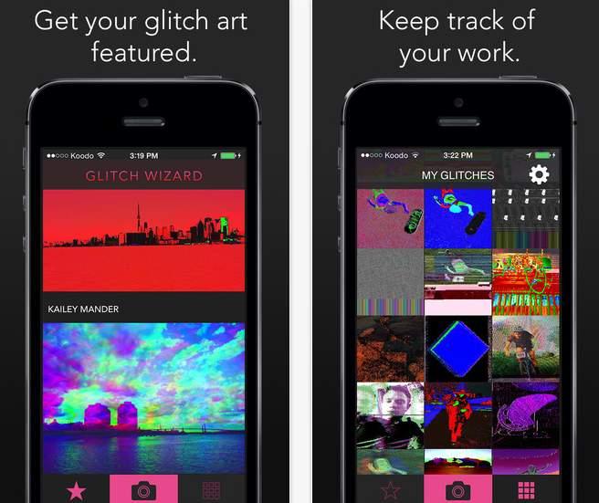 アヴァンギャルドな画像編集アプリ「Glitch Wizard」があなたの写真に魔法をかける 3番目の画像