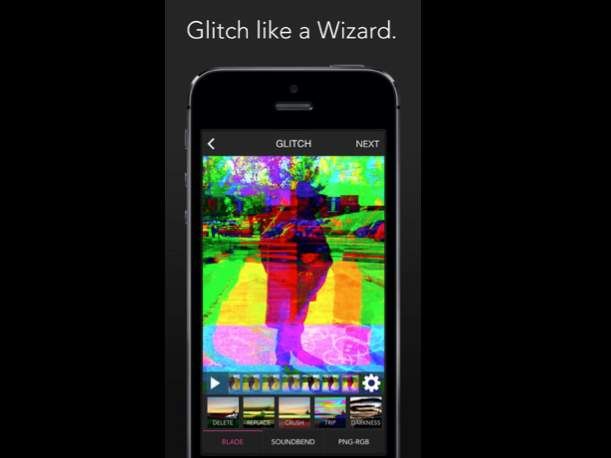 アヴァンギャルドな画像編集アプリ「Glitch Wizard」があなたの写真に魔法をかける 2番目の画像
