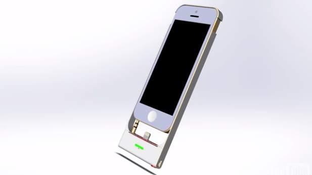 こんなのもあったら・・・。開発者のアイデアが詰まったiPhone専用充電スタンド「RAVERR」 1番目の画像