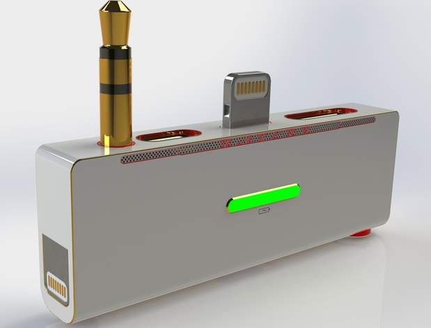 こんなのもあったら・・・。開発者のアイデアが詰まったiPhone専用充電スタンド「RAVERR」 2番目の画像