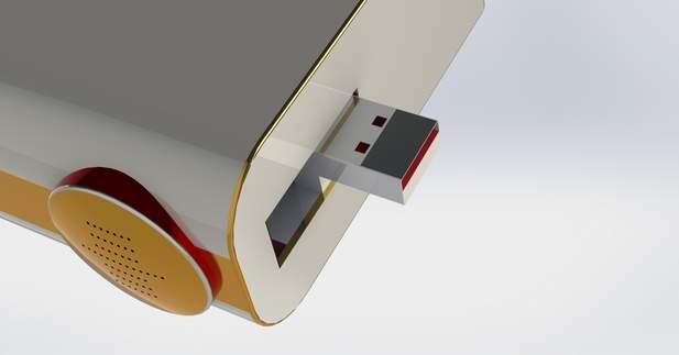 こんなのもあったら・・・。開発者のアイデアが詰まったiPhone専用充電スタンド「RAVERR」 6番目の画像