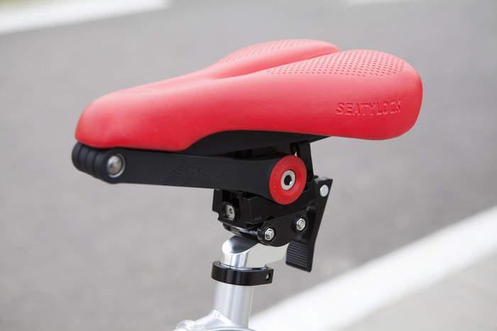 サドルが変形して自転車のチェーンロックに!?逆転の発想から生まれた「SEATYLOCK」 2番目の画像