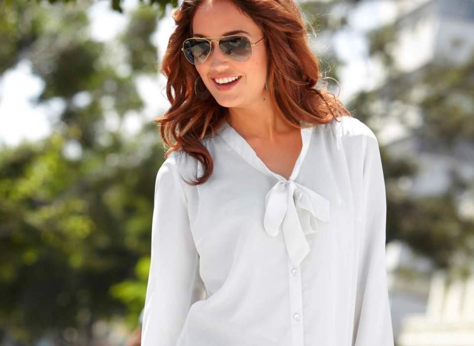 定番白シャツでこんなにオシャレに!オフィスでも普段使いでもいける着こなし5選 1番目の画像