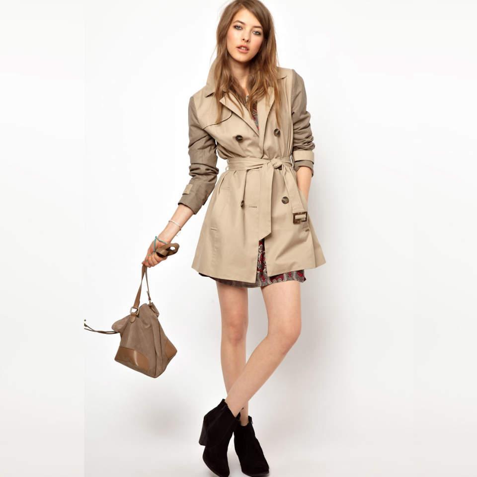 ビジネスウーマン必見!スーツに合わせるコート選び、今年は私服にも使えるトレンチで決まり 3番目の画像