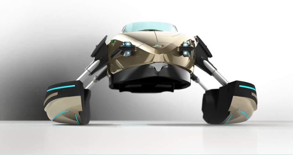 完全にトランスフォーマー!何種類ものボディに変形する電動型のボート「KORMARAN」に大興奮 1番目の画像