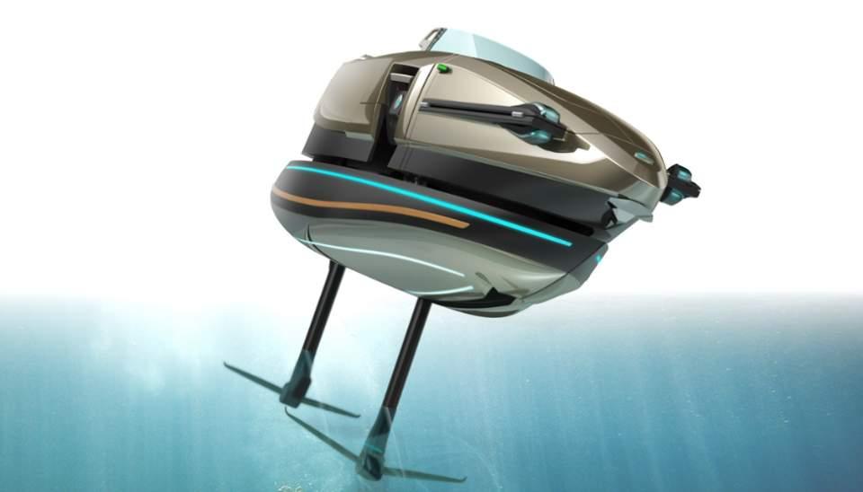完全にトランスフォーマー!何種類ものボディに変形する電動型のボート「KORMARAN」に大興奮 4番目の画像