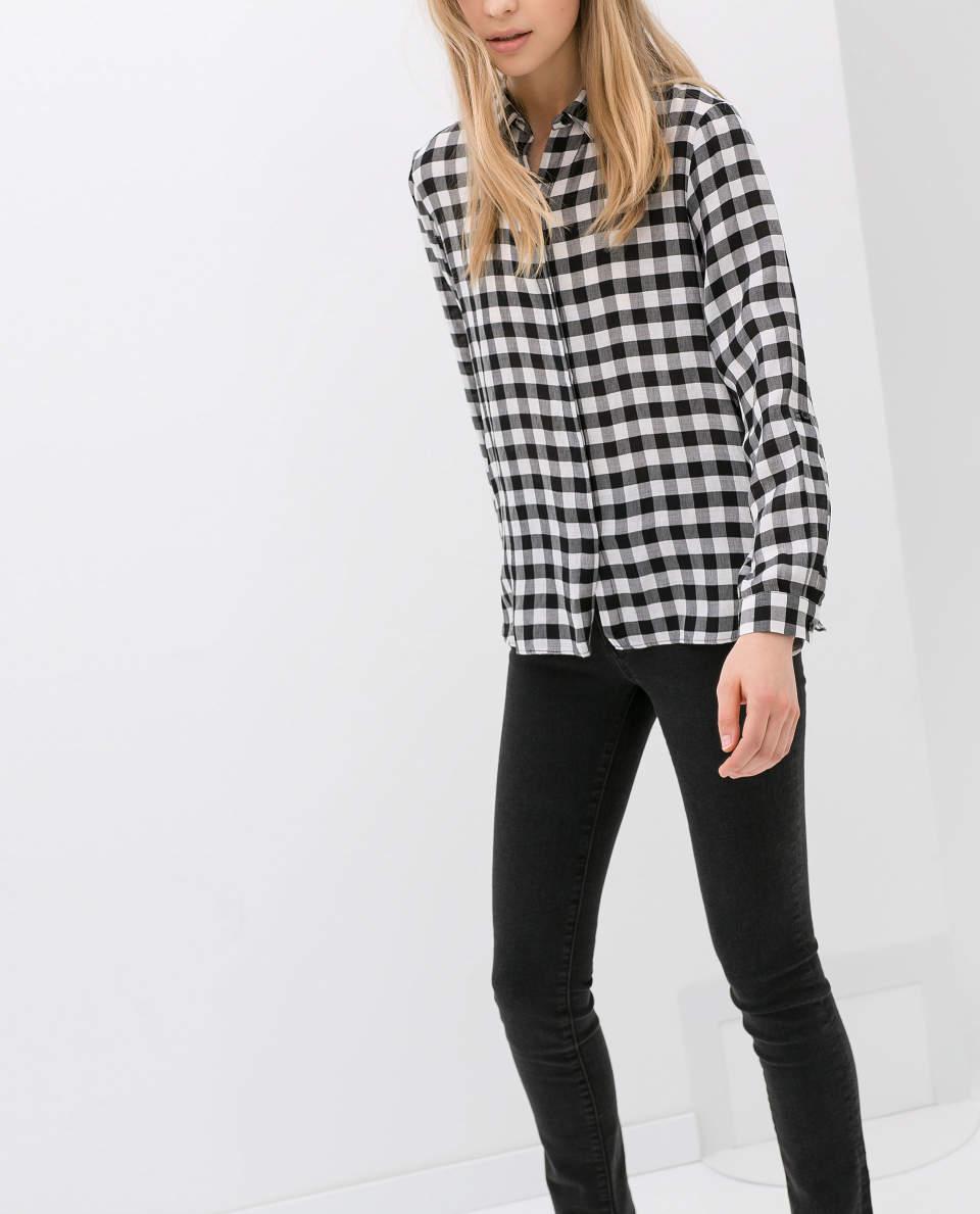 できる女はこう着る。チェックシャツを大人に着こなしたい女性のためのコーデ3つ 2番目の画像