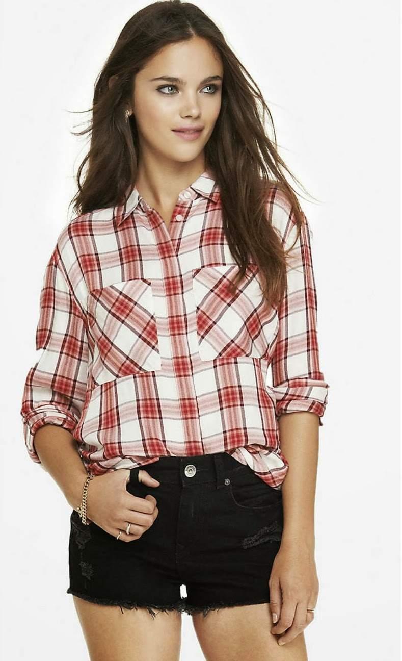 できる女はこう着る。チェックシャツを大人に着こなしたい女性のためのコーデ3つ 3番目の画像