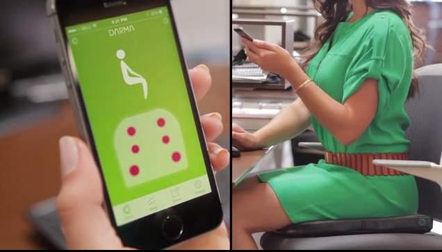 腰痛、肩こりにさようなら。椅子に座りっぱなしの習慣を劇的に変えるハイテククッション「Darma」 3番目の画像