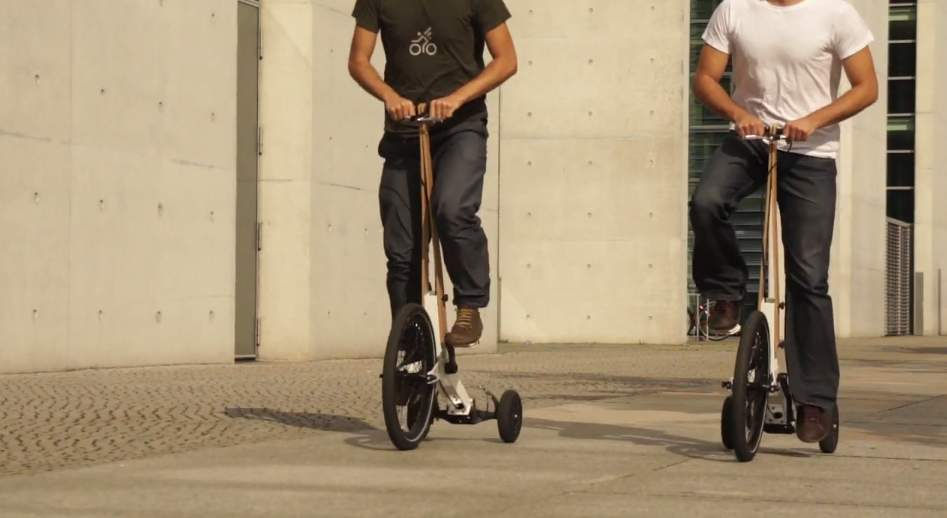 見た目はセグウェイ、中身は自転車な3輪カート「Halfbike」が完全に新しい乗り物だった 1番目の画像