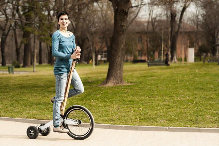 見た目はセグウェイ、中身は自転車な3輪カート「Halfbike」が完全に新しい乗り物だった 3番目の画像